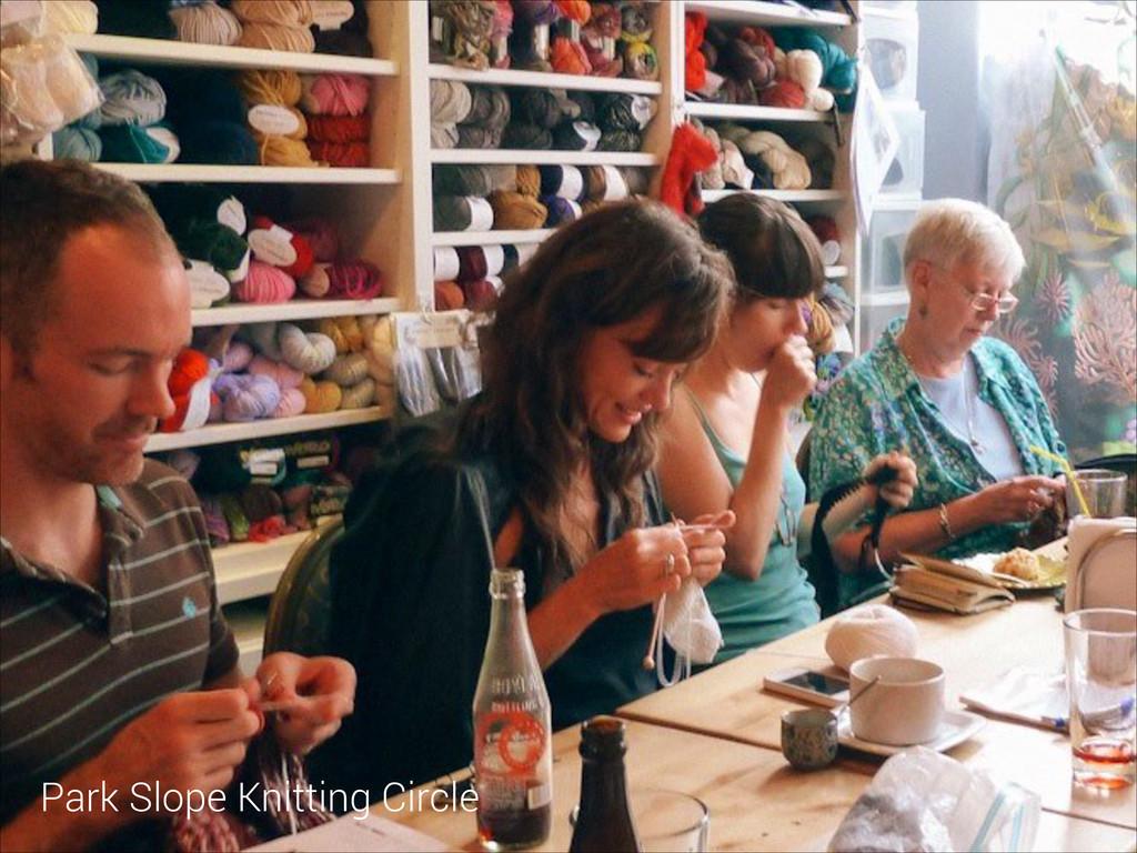 Park Slope Knitting Circle