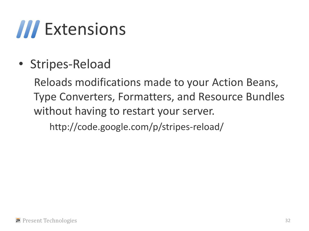 Extensions • Stripes-Reload Reloads modificatio...