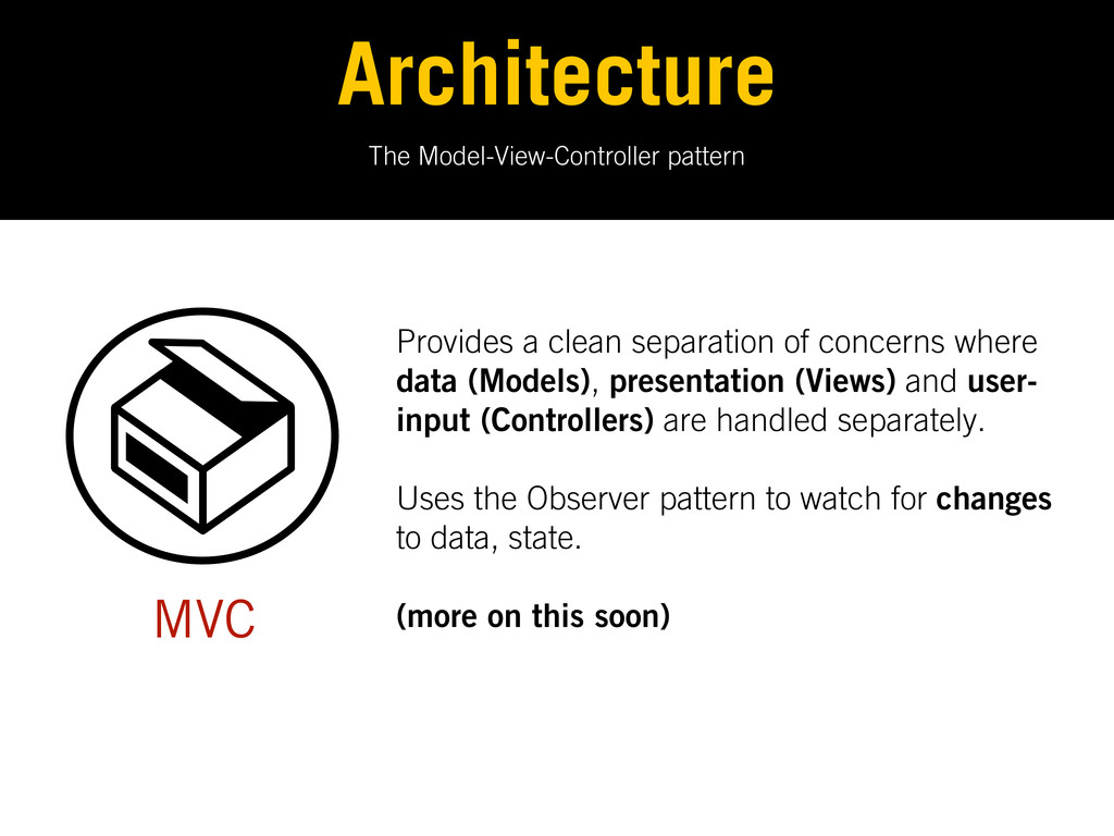 The Model-View-Controller pattern Architecture ...