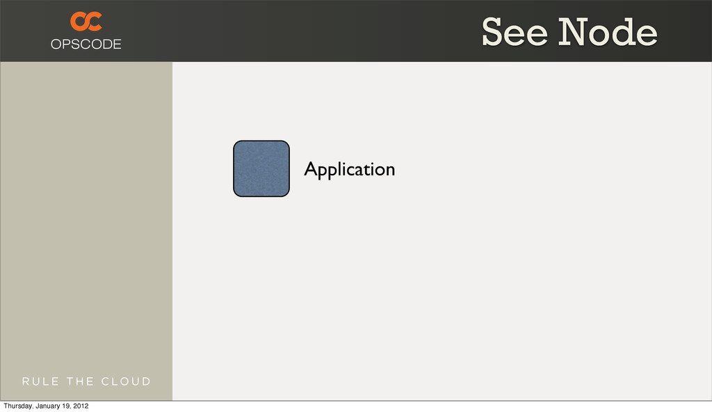Application See Node Thursday, January 19, 2012
