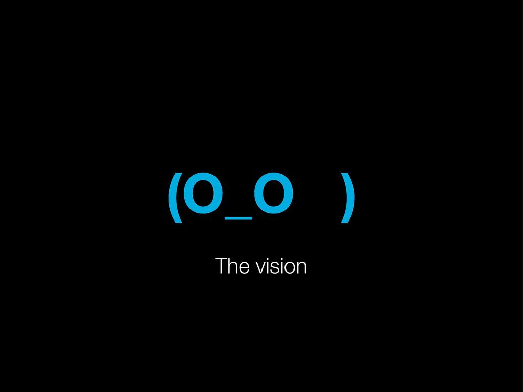 (O_O ) The vision