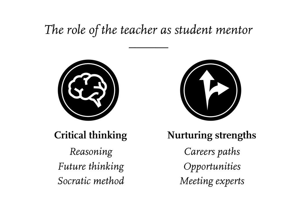 Critical thinking Reasoning Future thinking Soc...