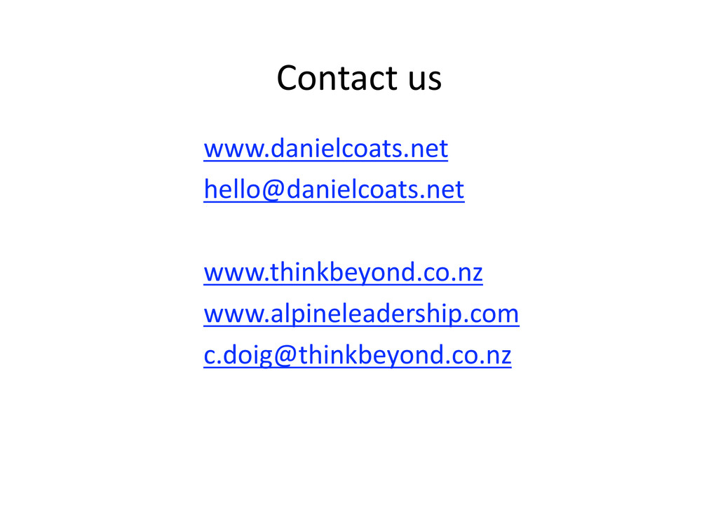 Contactus  www.danielcoats.net hello@danielc...