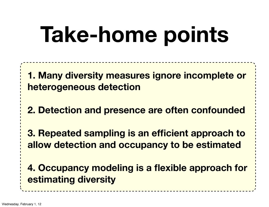 1. Many diversity measures ignore incomplete or...