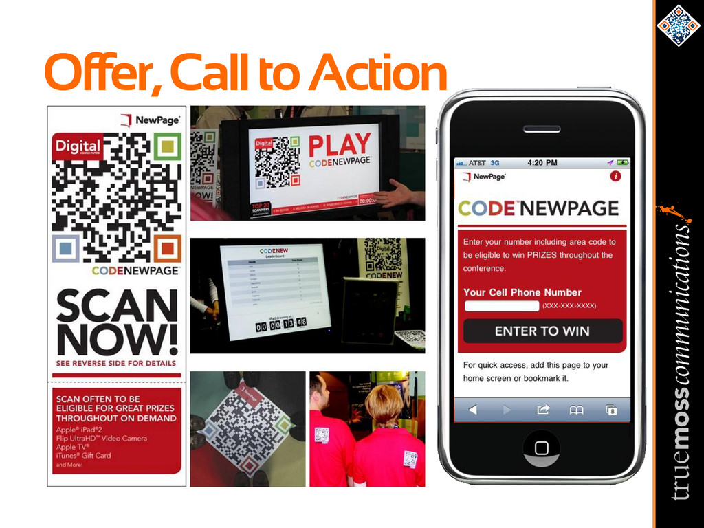 Offer, Call to Action