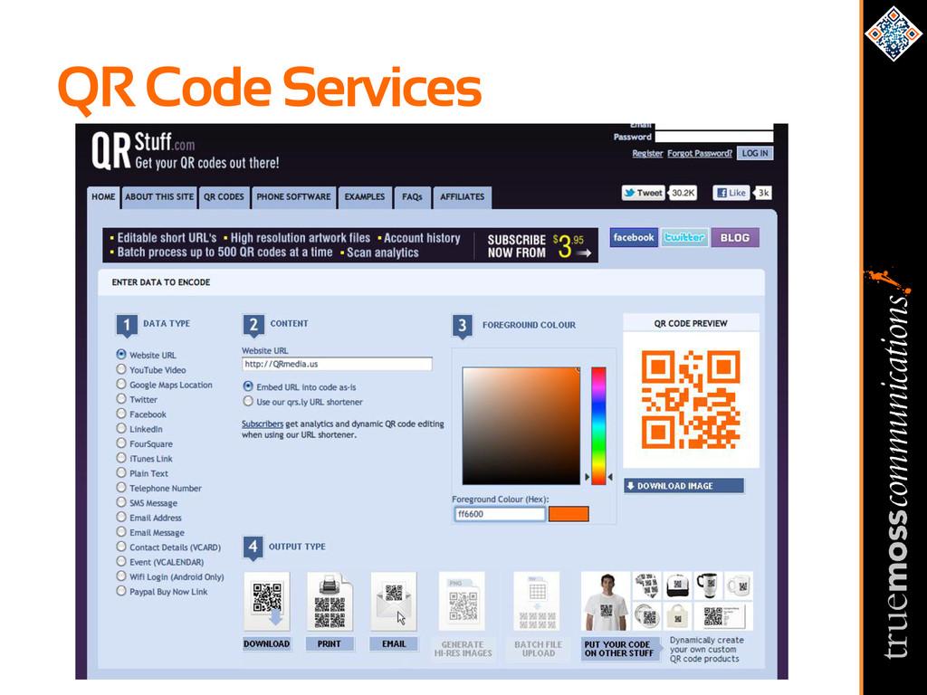 QR Code Services