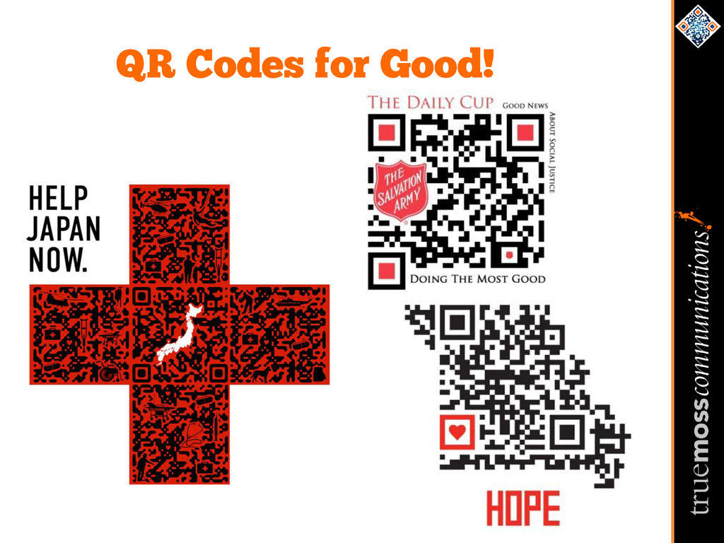 QR Codes for Good!