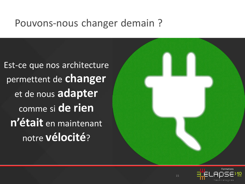 © 2015 Elapse Technologies Formations Pouvons-n...