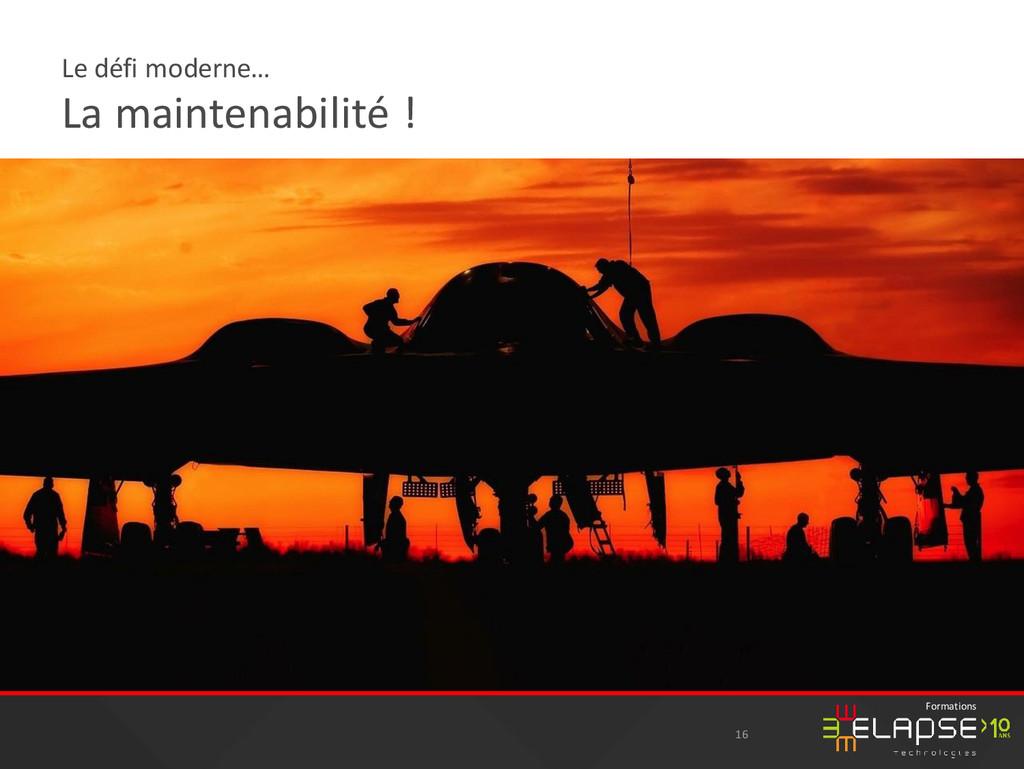 © 2015 Elapse Technologies Formations Le défi m...