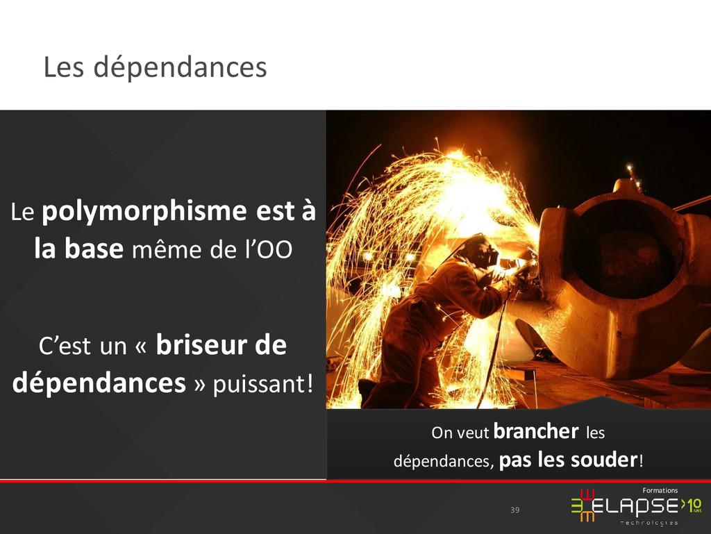 © 2015 Elapse Technologies Formations Les dépen...