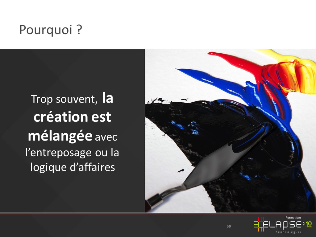 © 2015 Elapse Technologies Formations Pourquoi ...