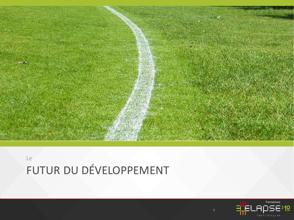 © 2015 Elapse Technologies Formations FUTUR DU ...
