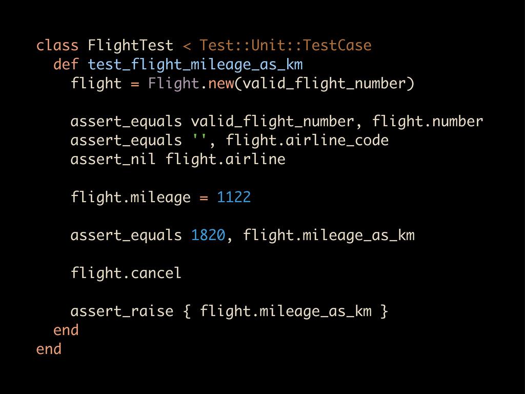 class FlightTest < Test::Unit::TestCase def tes...