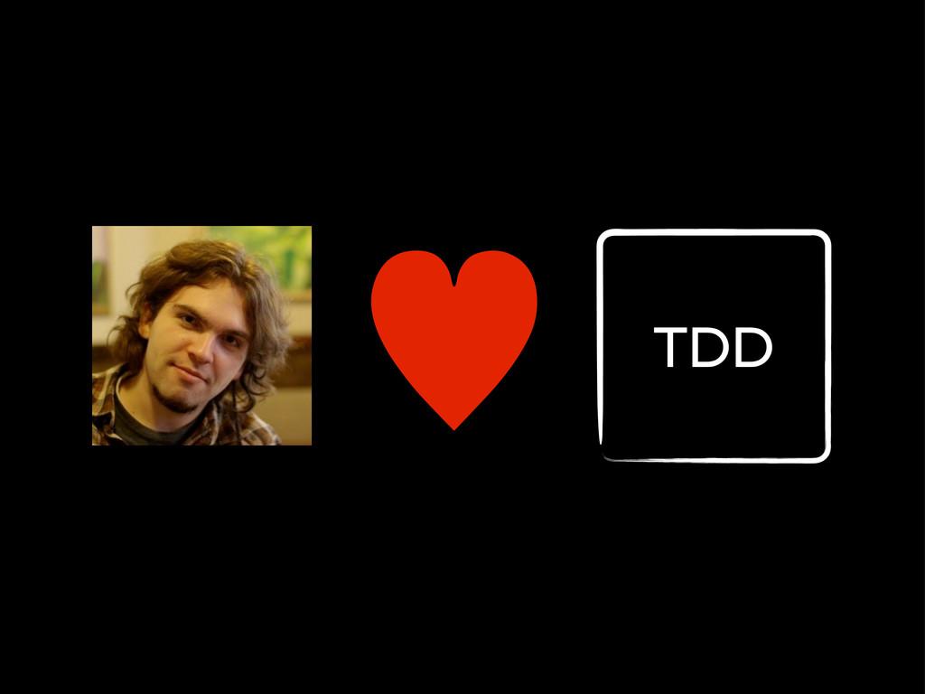 — TDD