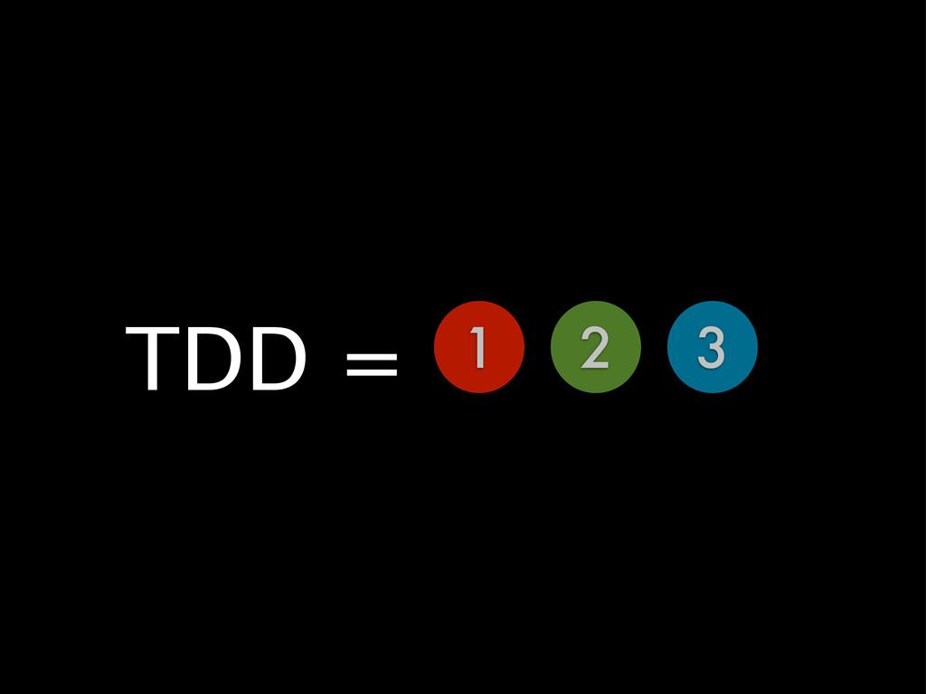 1 2 3 TDD =