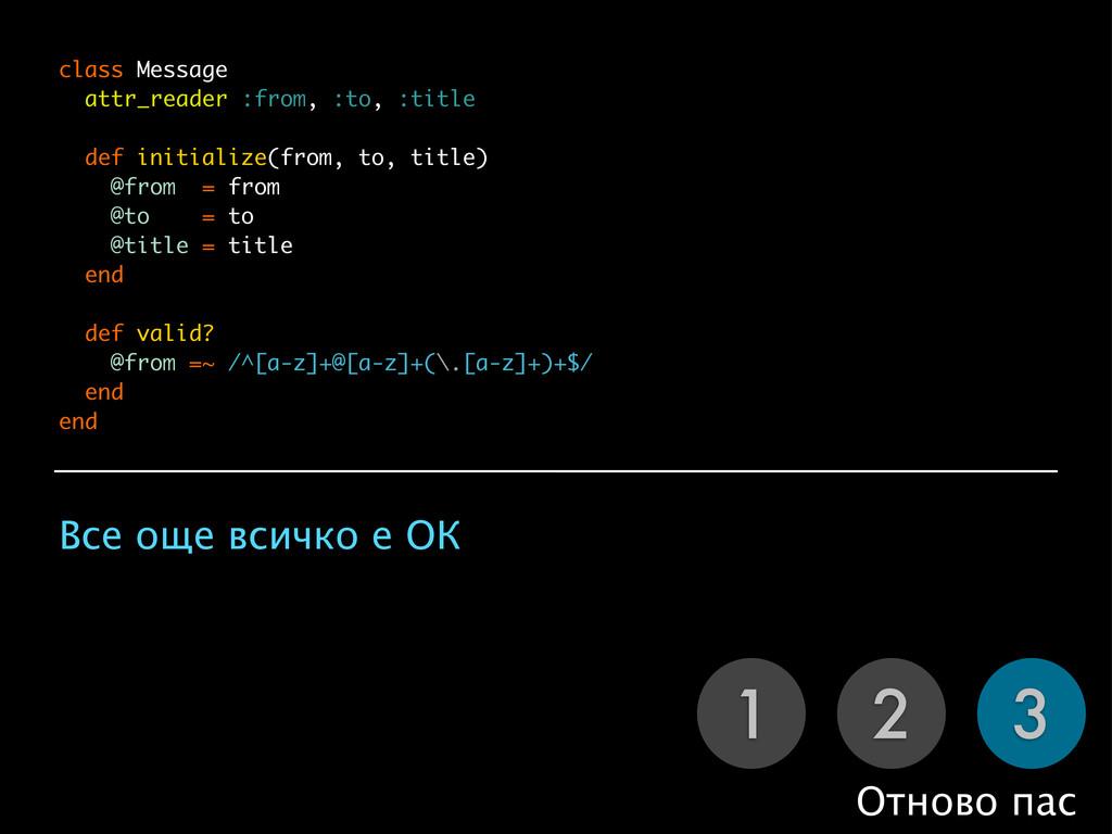 1 2 3 Отново пас class Message attr_reader :fro...
