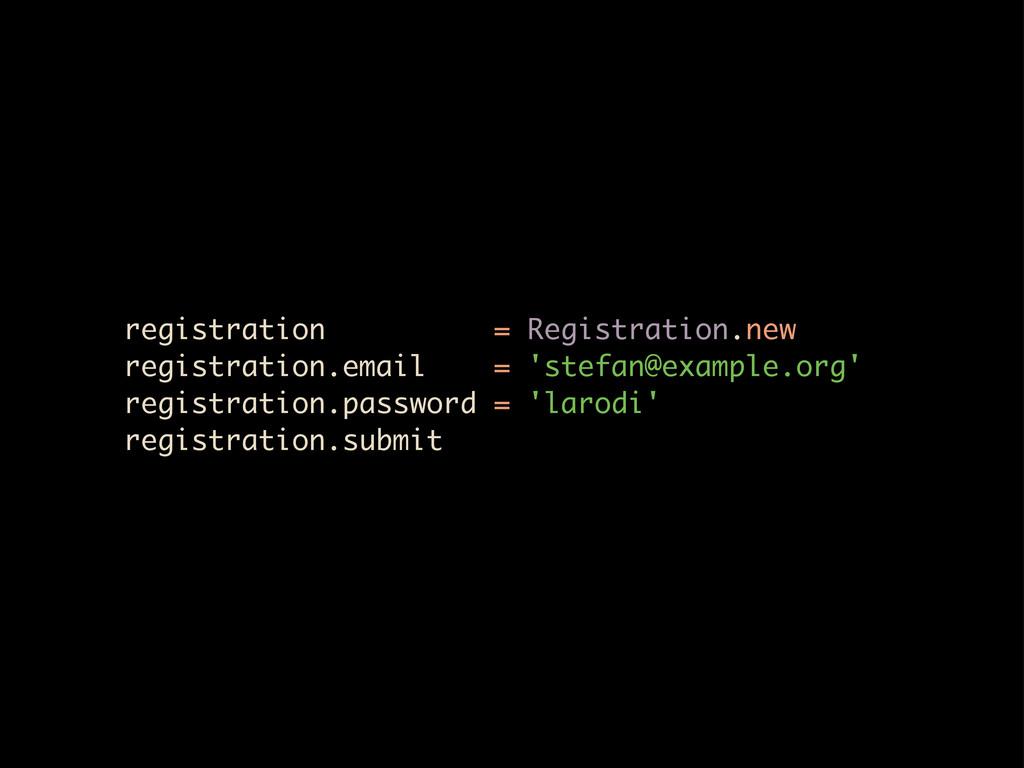 registration = Registration.new registration.em...