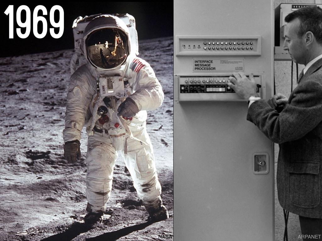 ARPANET 1969 NASA