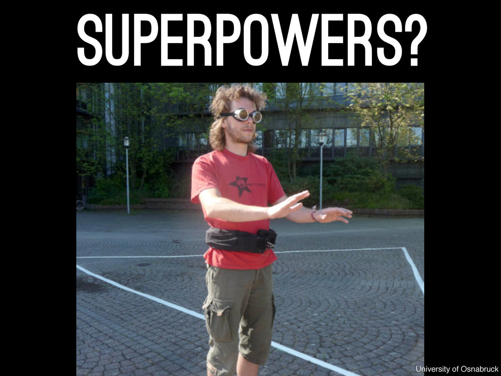 superpowers? University of Osnabruck