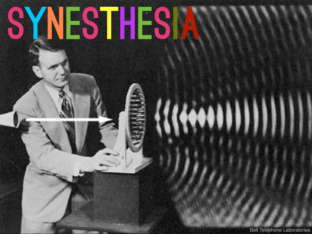 synesthesia Bell Telephone Laboratories