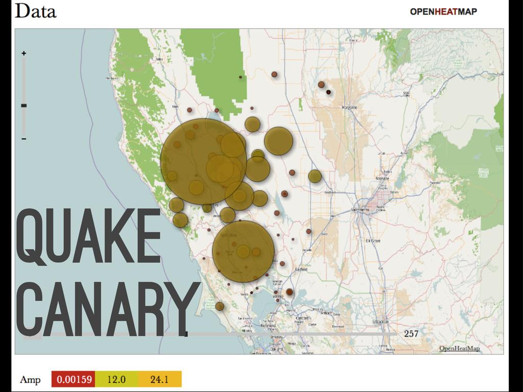 quake canary