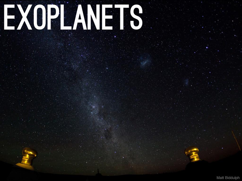 Matt Biddulph exoplanets