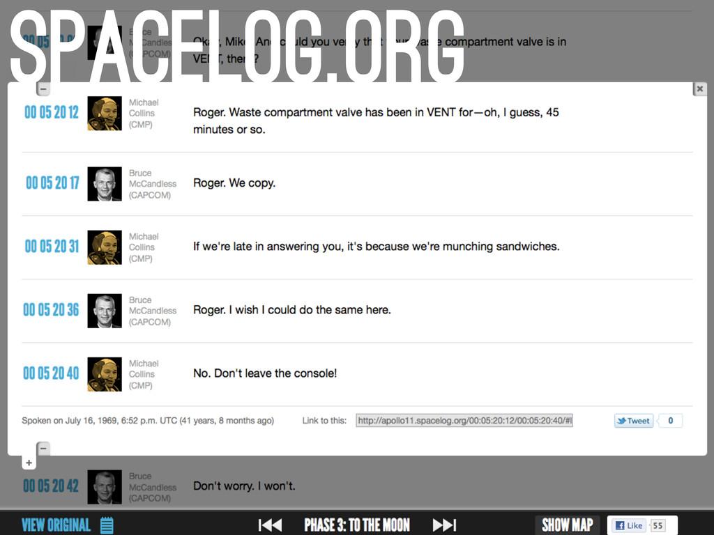 spacelog.org
