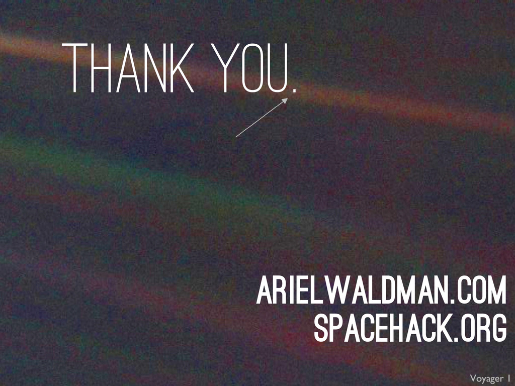 arielwaldman.com spacehack.org thank you.