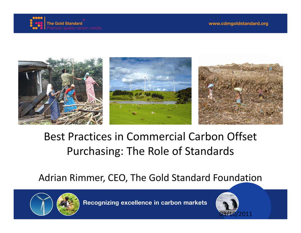 Best Practices in Commercial Carbon Offset Purc...