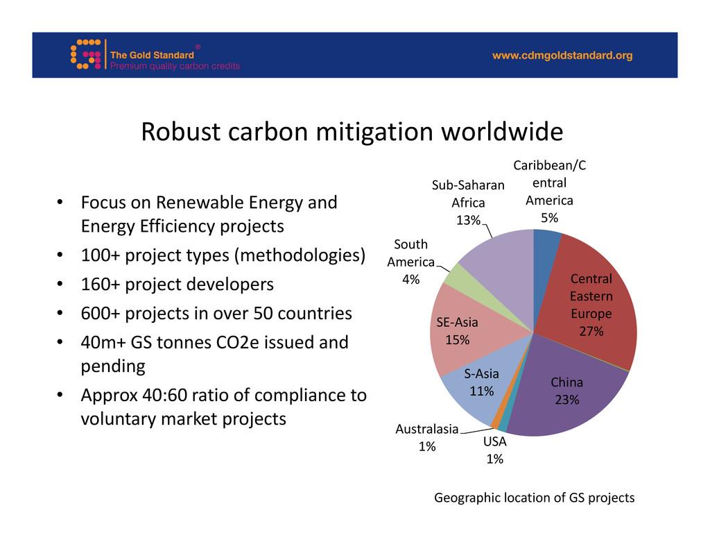 Robust carbon mitigation worldwide Caribbean/C ...