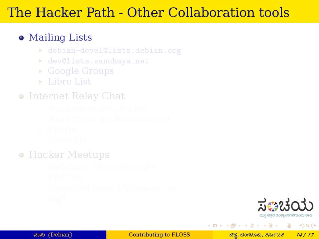 . . . . . . The Hacker Path - Other Collaborati...