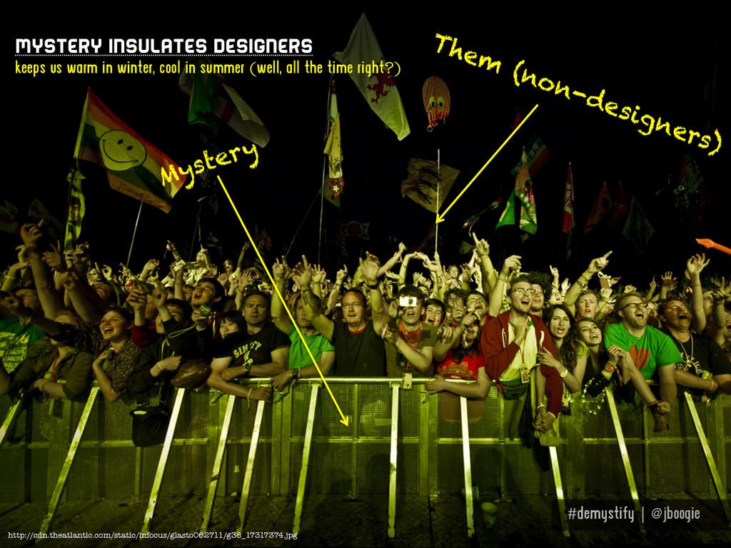 #demystify | @jboogie Mystery insulates designe...
