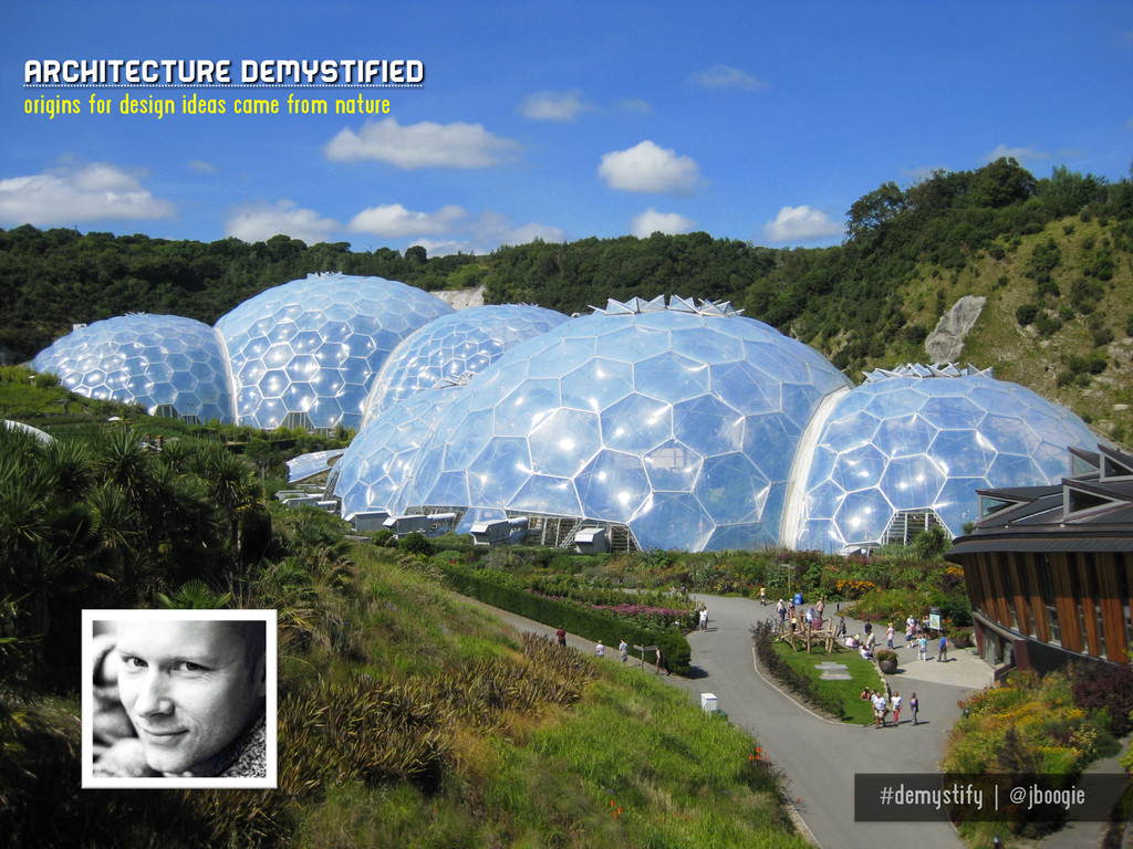 #demystify | @jboogie Architecture demystified ...