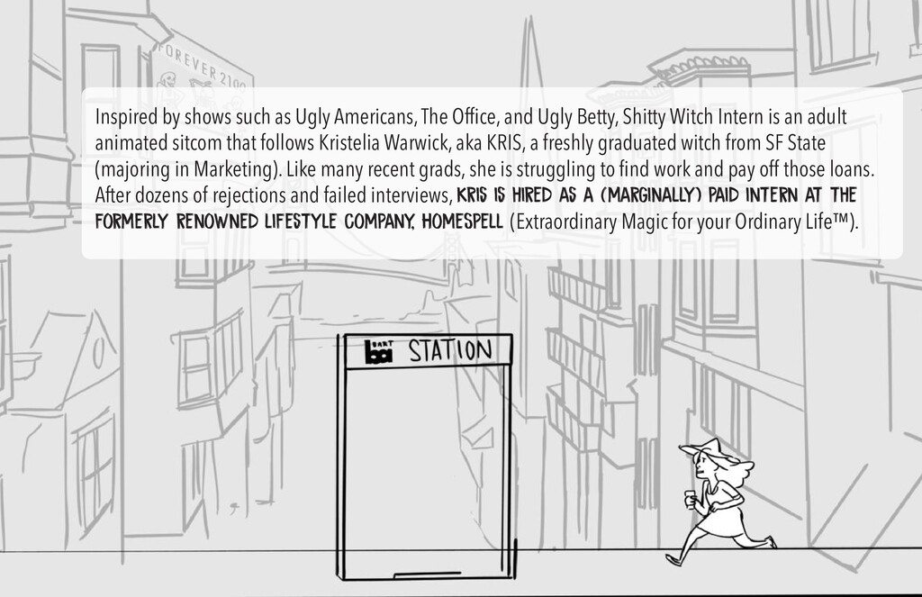 Inspired by shows such as Ugly Americans, The O...