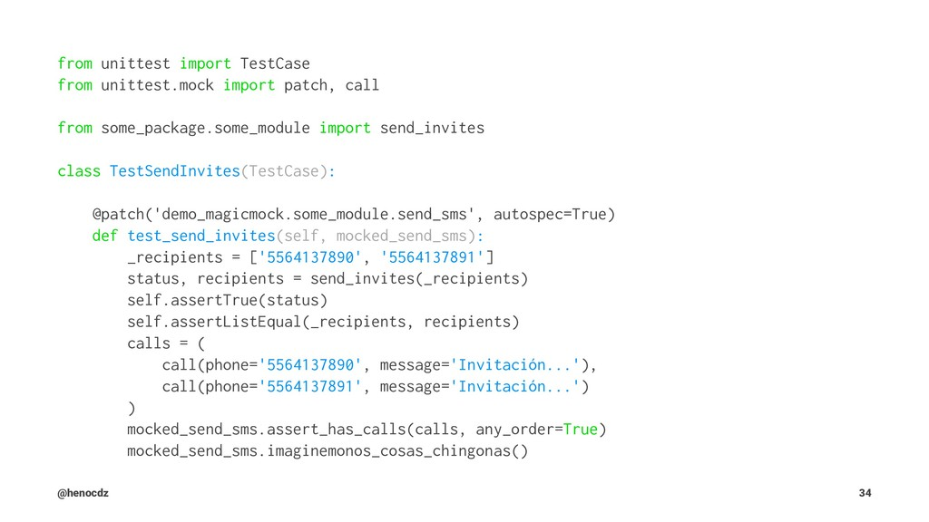from unittest import TestCase from unittest.moc...