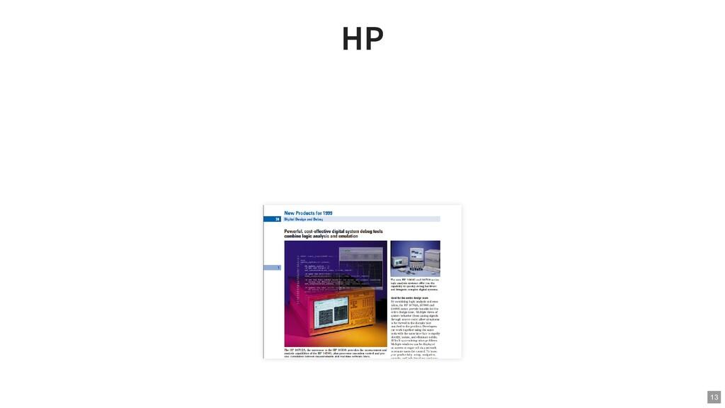 HP HP 13