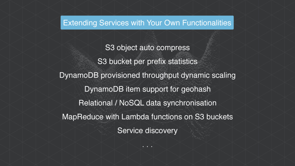 S3 object auto compress S3 bucket per prefix st...