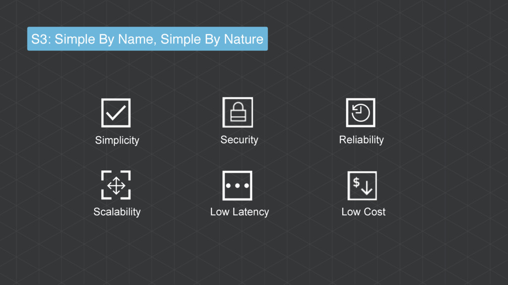 Low Cost Security Simplicity Reliability Scalab...