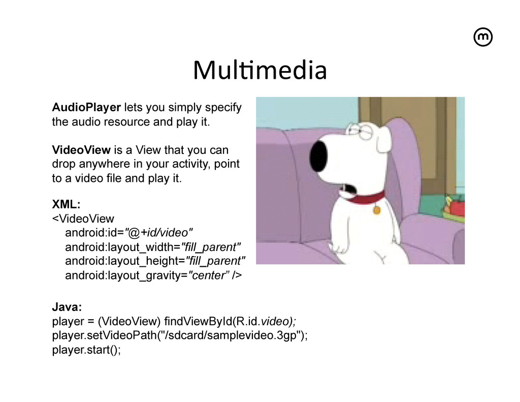 Mul<media   AudioPlayer lets you simply spec...