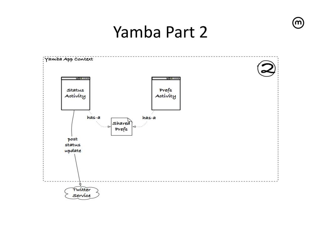Yamba Part 2