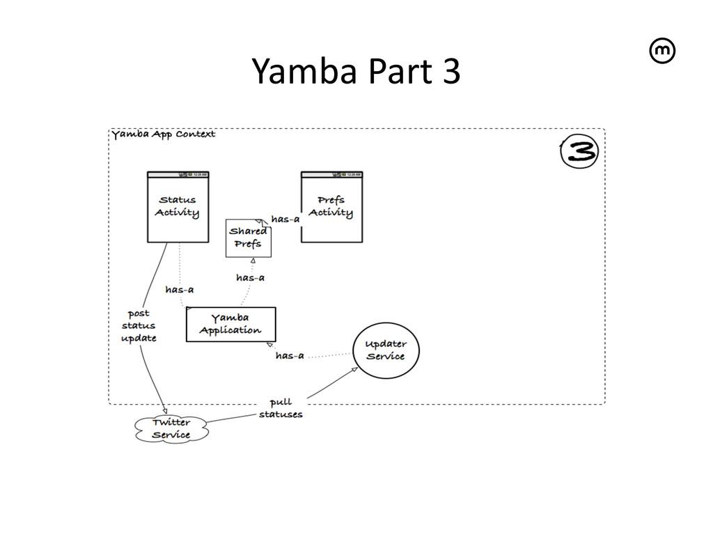 Yamba Part 3