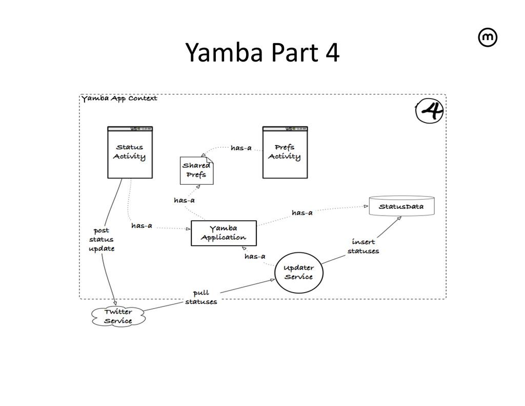 Yamba Part 4