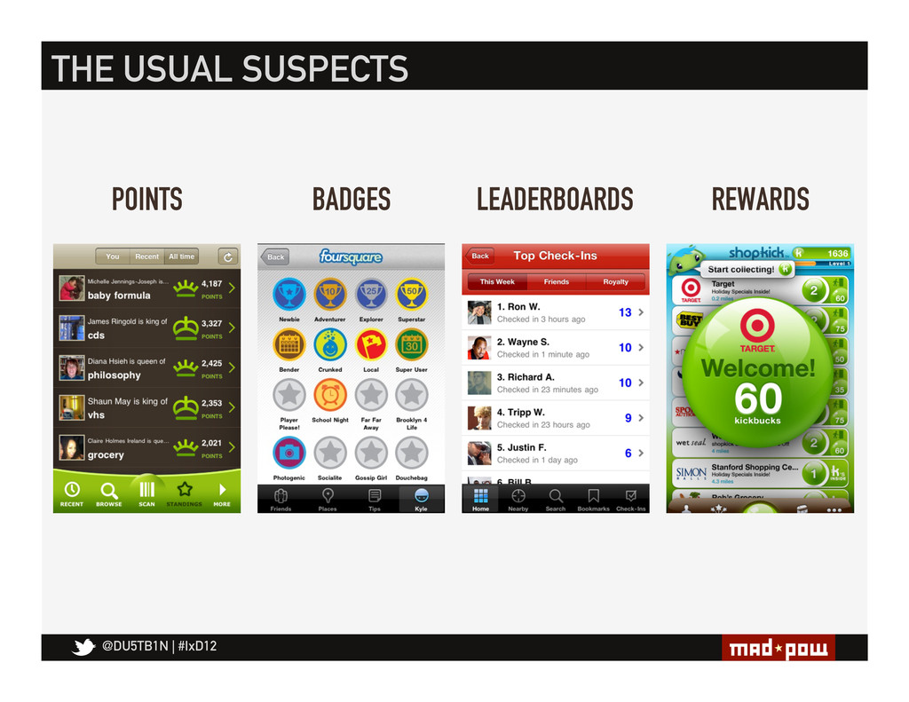 @DU5TB1N   #IxD12 POINTS THE USUAL SUSPECTS BAD...