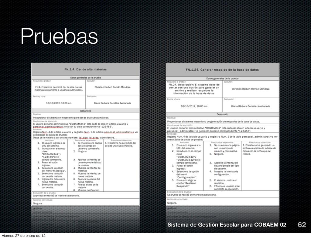 Pruebas 62 Sistema de Gestión Escolar para COBA...