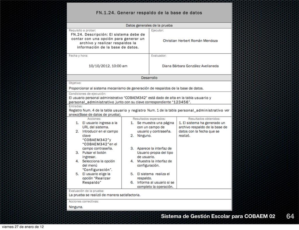 64 Sistema de Gestión Escolar para COBAEM 02 vi...