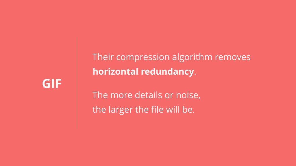 GIF Their compression algorithm removes horizon...