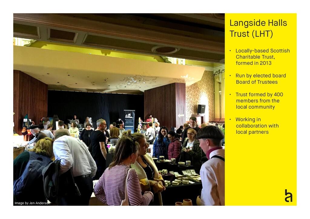 Langside Halls Trust (LHT) • Locally-based Scot...