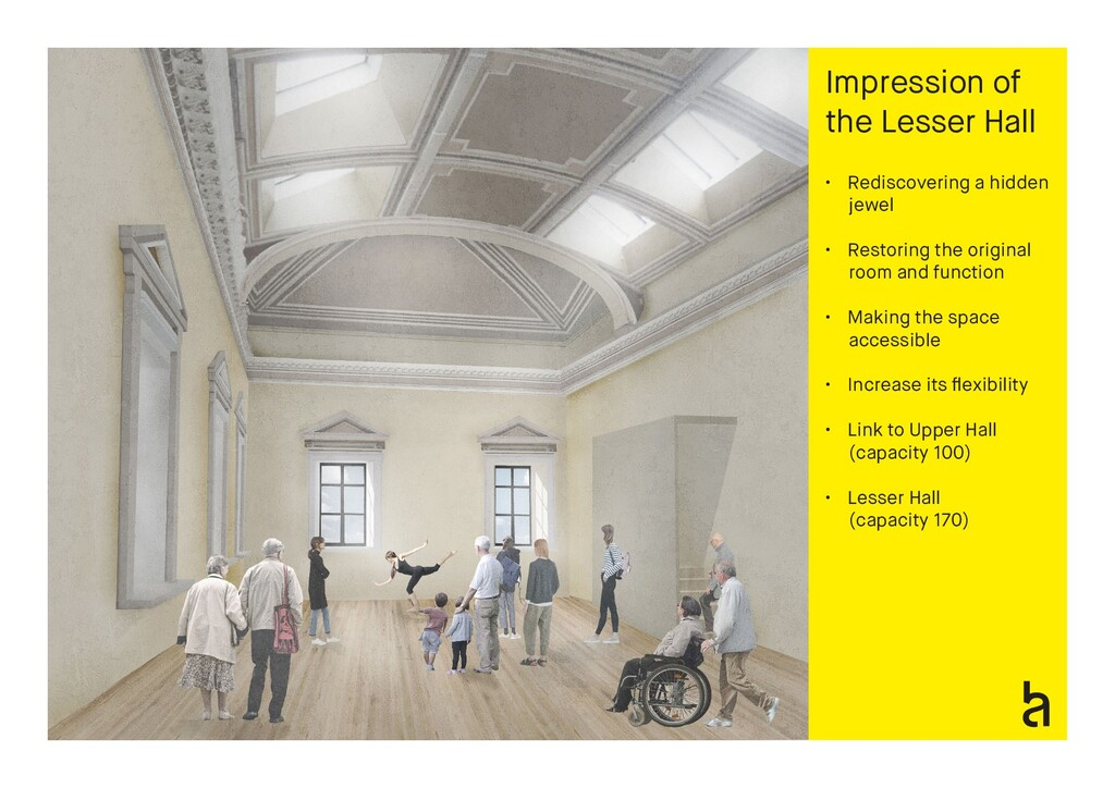 Impression of the Lesser Hall • Rediscovering a...
