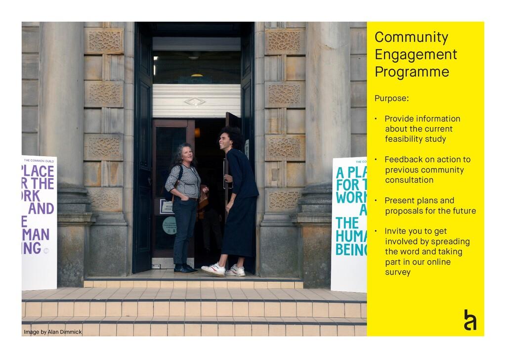 Community Engagement Programme Purpose: • Provi...