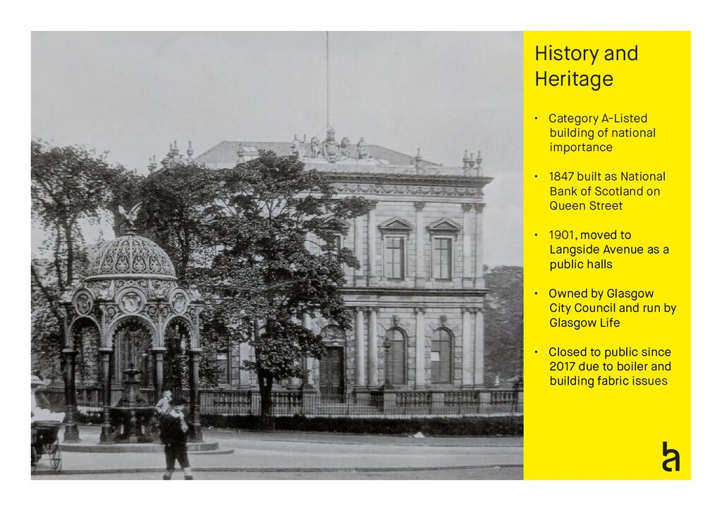 History and Heritage • Category A-Listed buildi...